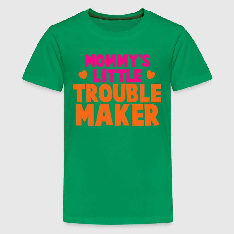 Mommy's little TROUBLE MAKER Kids' Shirts - Kids' Premium T-Shirt