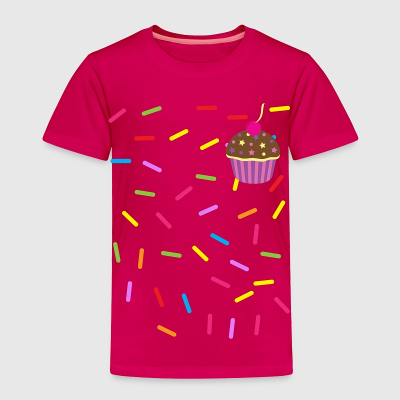 Sprinkles Cupcake T-shirt - Toddler Premium T-Shirt