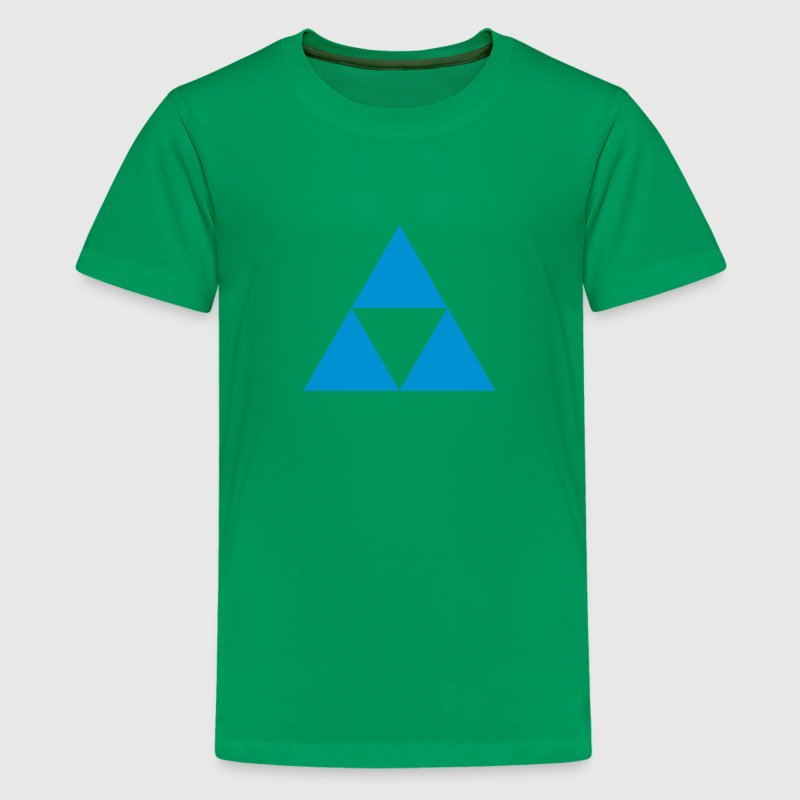 three triangle Kids' Shirts - Kids' Premium T-Shirt