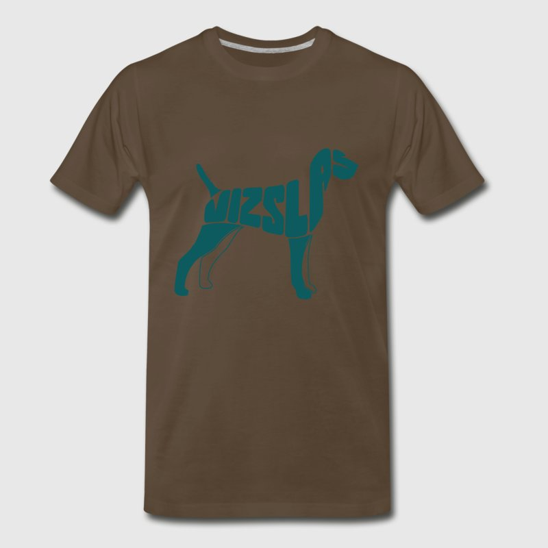 Vizsla Dog Art T-Shirts - Men's Premium T-Shirt