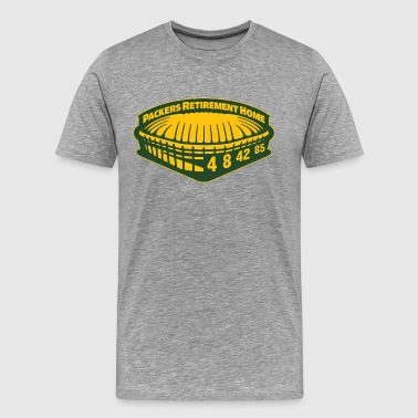 PACKERS RETIREMENT HOME T-Shirts - Men's Premium T-Shirt