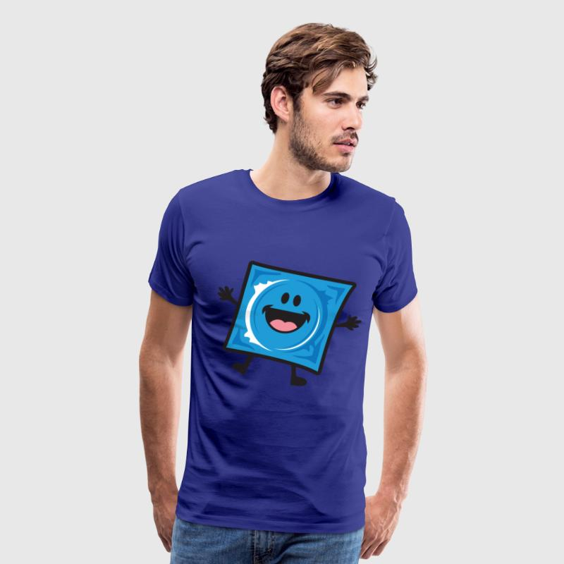 Condom Wrapper T-Shirts - Men's Premium T-Shirt