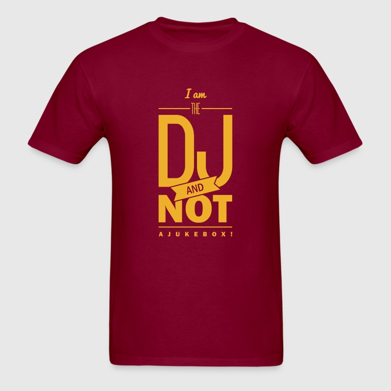 Saying i m the dj t shirt spreadshirt Dj t shirt design