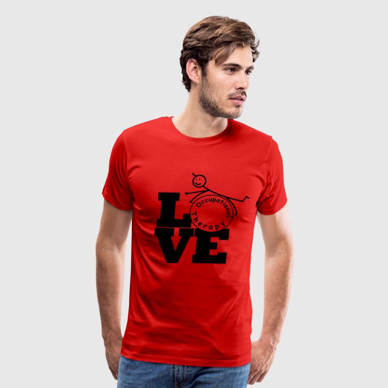 LOVE Occupational Therapy T-Shirts - Men's Premium T-Shirt