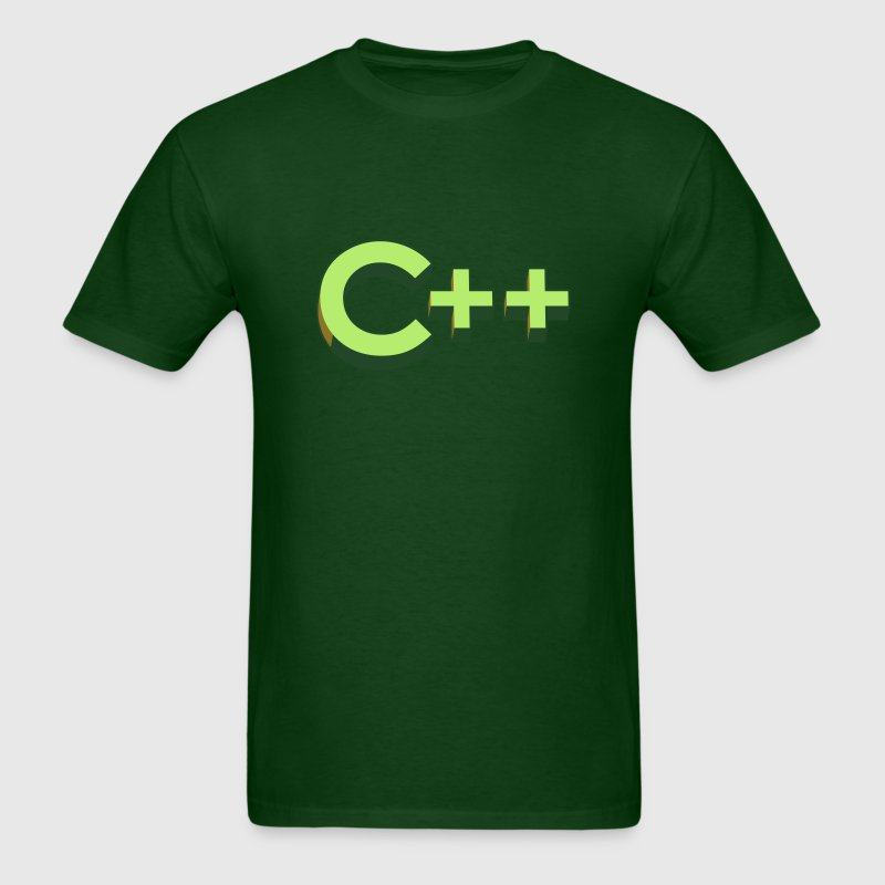 Programming Languages: C++ / C plus plus - Men's T-Shirt