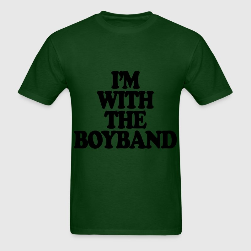 I'm With The Boy Band T-Shirts - Men's T-Shirt