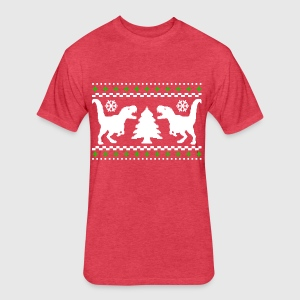 Ugly T-REX Christmas Sweater T-Shirt | Spreadshirt