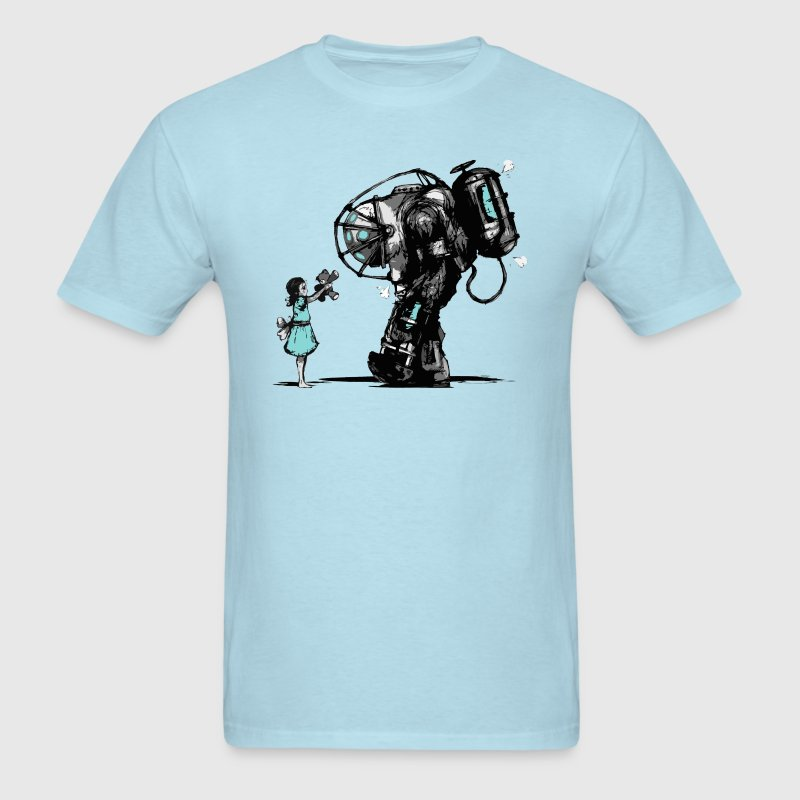 Bioshock Big Daddy T-Shirts - Men's T-Shirt