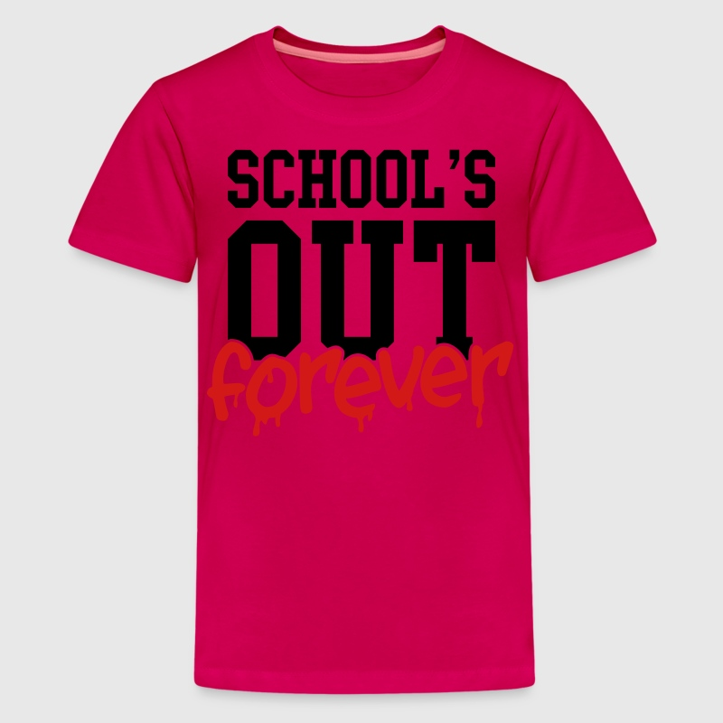 school's out forever Kids' Shirts - Kids' Premium T-Shirt