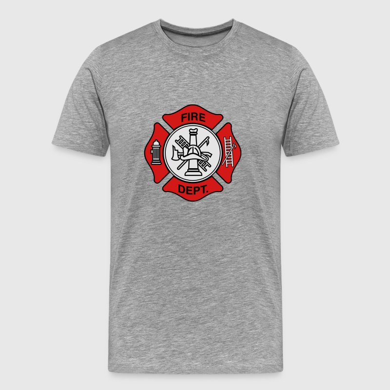 Fire Department Symbol T-Shirts - Men's Premium T-Shirt