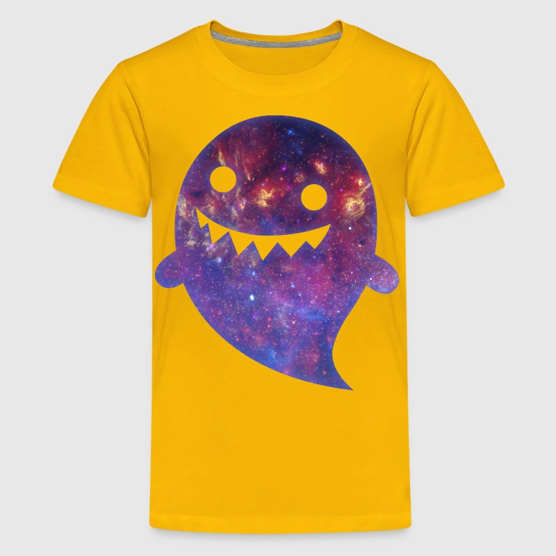 Ghost - Space Texture Kids' Shirts - Kids' Premium T-Shirt