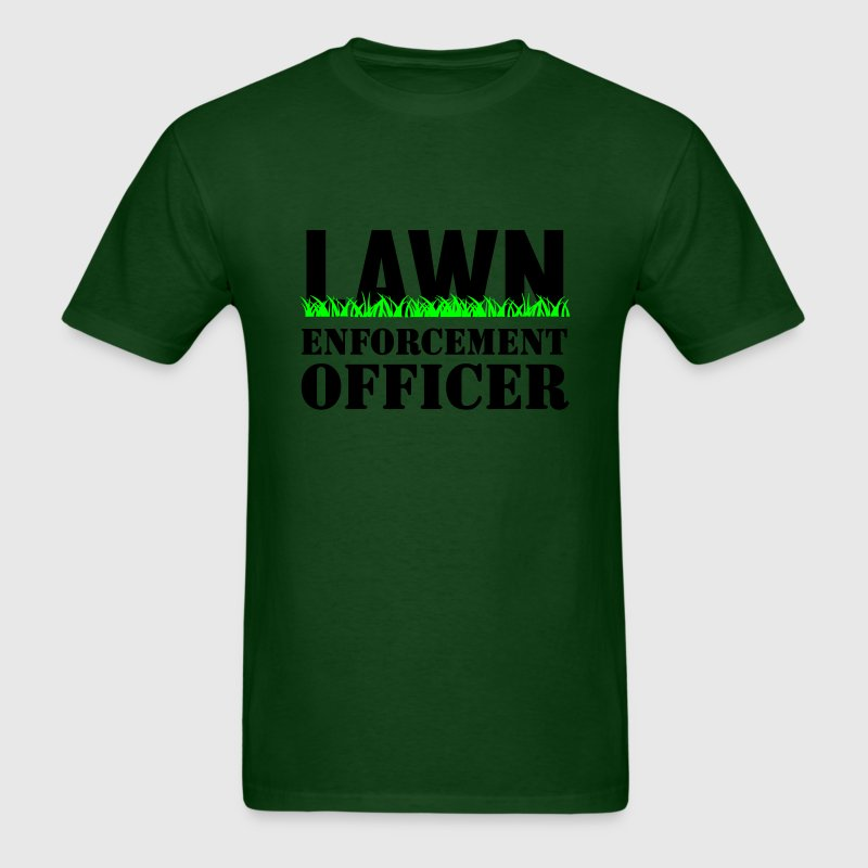 Lawn Enforcement Officer T-Shirts - Men's T-Shirt