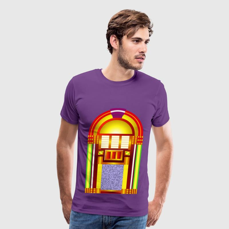 the free oldies music jukebox - Men's Premium T-Shirt