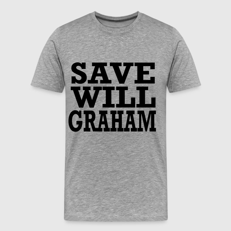 save will graham T-Shirts - Men's Premium T-Shirt
