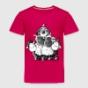 Bearded Collie and sheep - Herding dog design Baby & Toddler Shirts - Toddler Premium T-Shirt