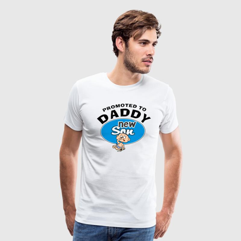 New Daddy Baby Boy T-Shirt - Men's Premium T-Shirt