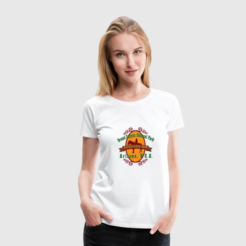 Grand Canyon National Park Arizona Women's T-Shirts - Women's Premium T-Shirt