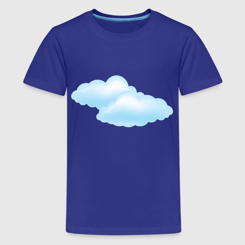 Cloudy Day - Weather - Storm - Clouds Kids' Shirts - Kids' Premium T-Shirt