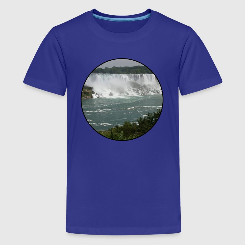 Nature - Mountains - Forest - Niagara Falls Kids' Shirts - Kids' Premium T-Shirt