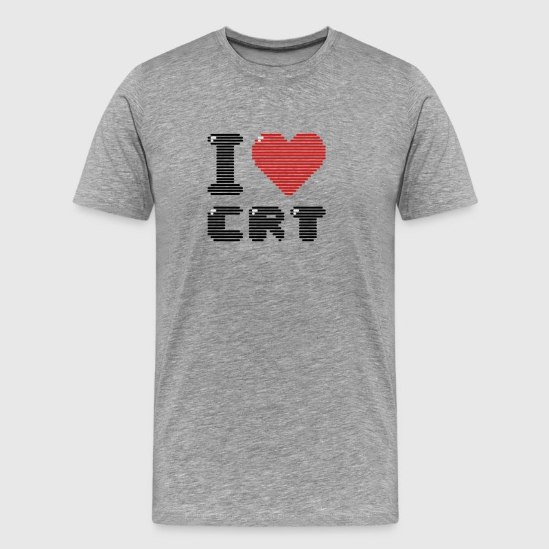 I Love CRT T-Shirts - Men's Premium T-Shirt