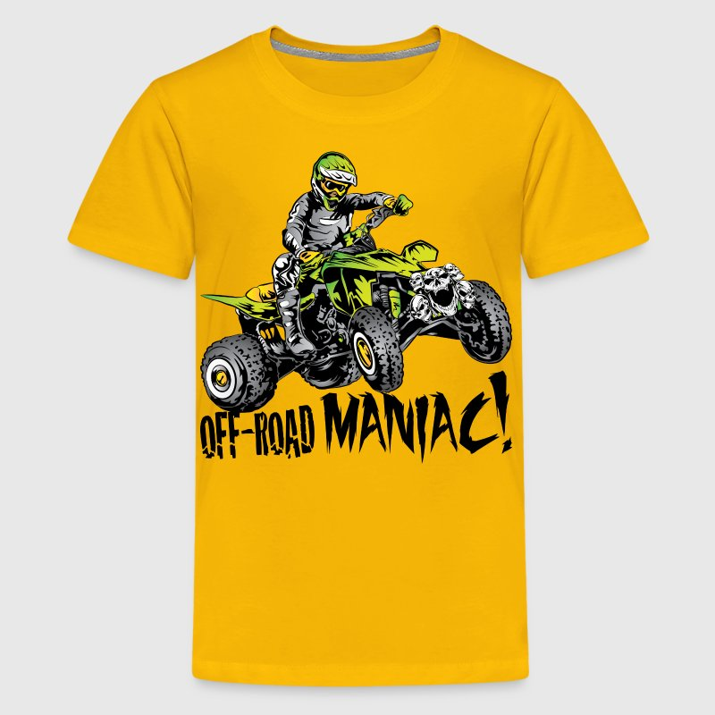 Off-Road Quad Maniac Kids' Shirts - Kids' Premium T-Shirt