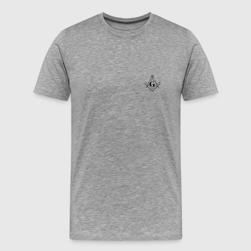 Square and Compass T-Shirts - Men's Premium T-Shirt