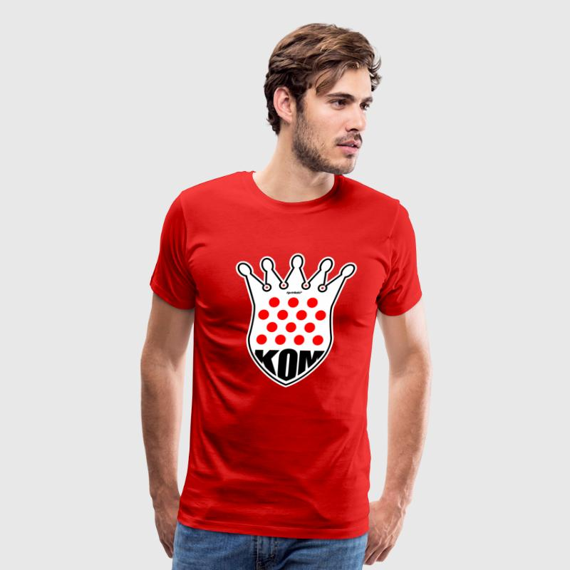 KOM King of the Mountain Tour de France T Shirt - Men's Premium T-Shirt