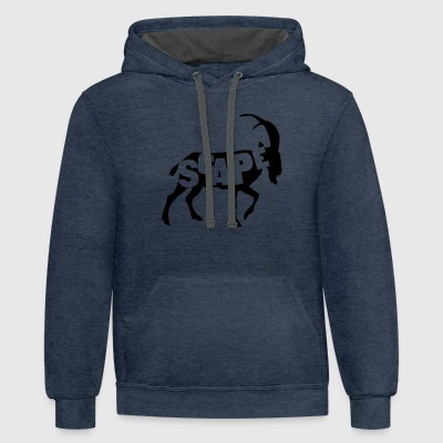 ScapeGoat T-Shirts - Contrast Hoodie