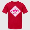 Save the Boobs Sign T-Shirts - Men's Fine Jersey T-Shirt