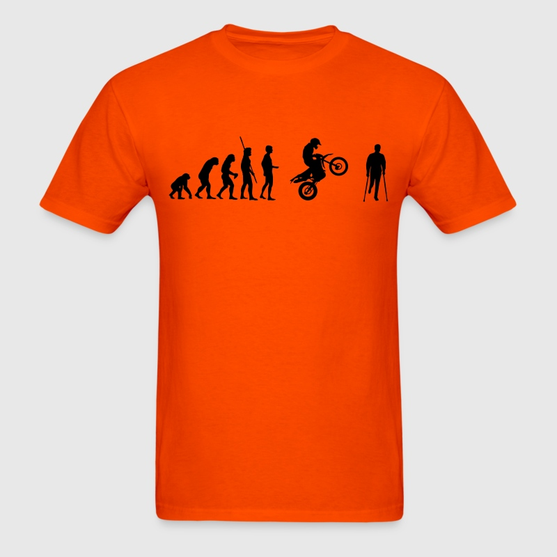 Evolution Enduro accident Shirt - Men's T-Shirt