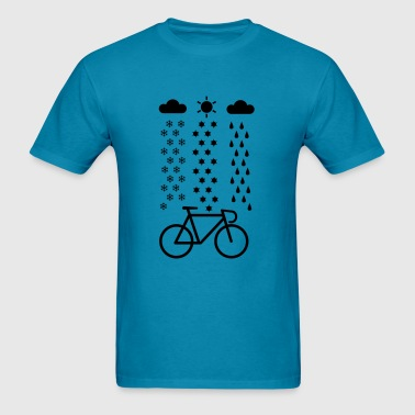 All Seasons Cyclist T-Shirts - Men's T-Shirt