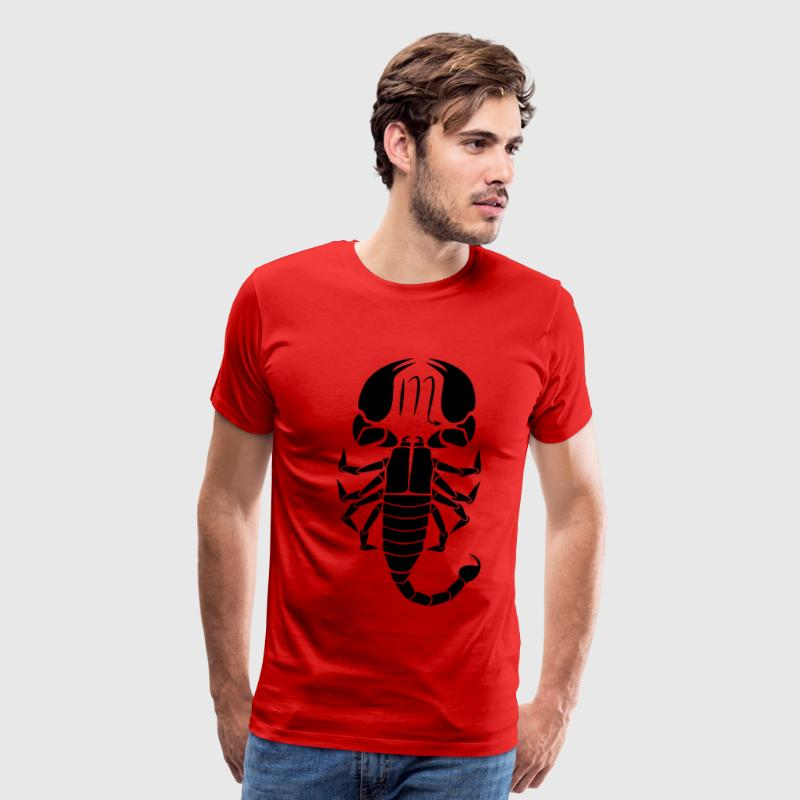 scorpio zodiac astrology horoscope - Men's Premium T-Shirt