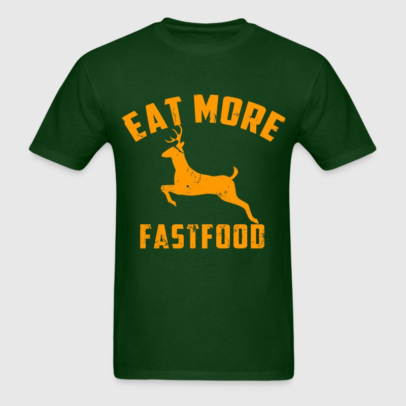 eat more fast food - Men's T-Shirt