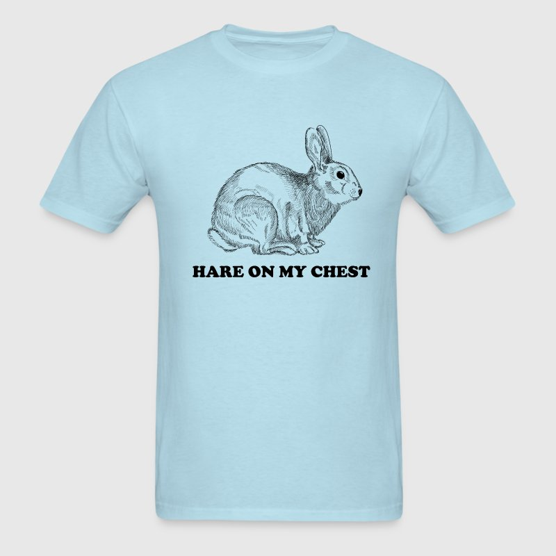 Hare on my chest T-Shirts - Men's T-Shirt