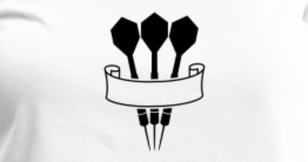 Darts Banner Logo T Shirt Spreadshirt