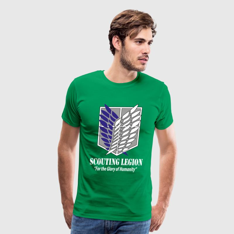 Scouting Legion- Attack on Titan T-Shirts - Men's Premium T-Shirt