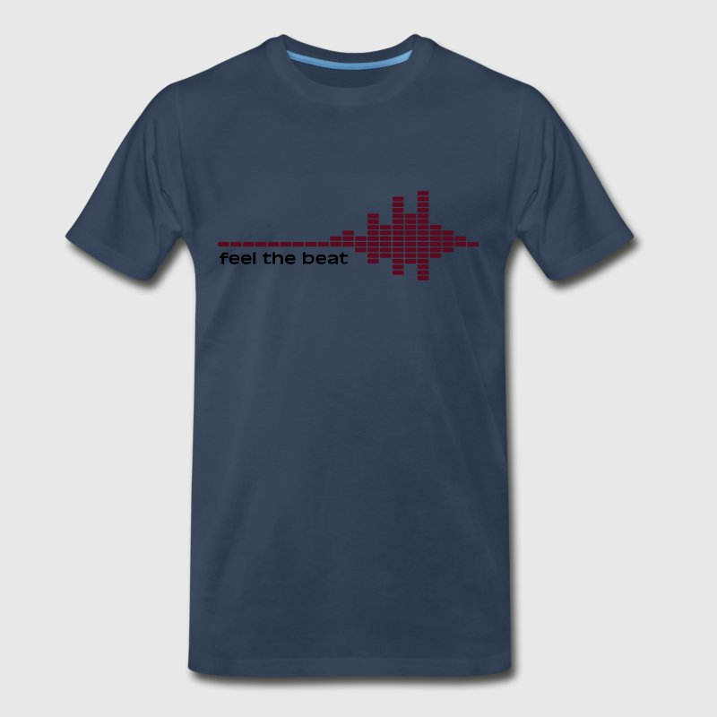 feel the beat Shirt - Men's Premium T-Shirt