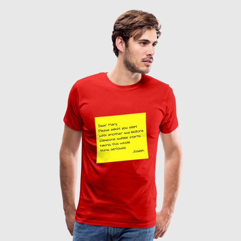 Dear Mary T-Shirts - Men's Premium T-Shirt