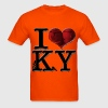 I Love KY - whisKeY (for light-colored apparel) T-Shirts - Men's T-Shirt