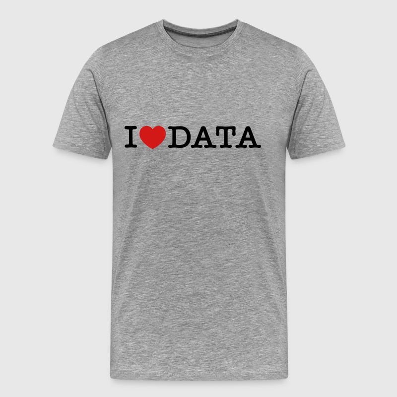 I Love Data - Men's Premium T-Shirt