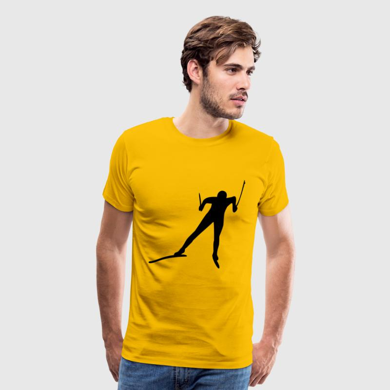 cross-country ski T-Shirts - Men's Premium T-Shirt