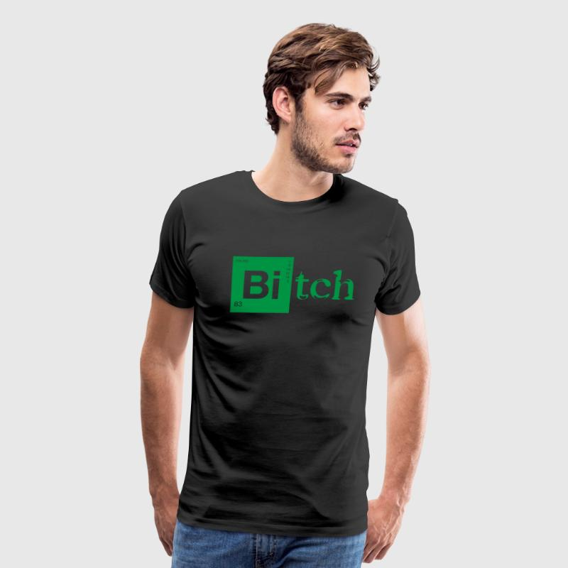 Bitch - Jessie Pinkman - Breaking Bad T-Shirts - Men's Premium T-Shirt