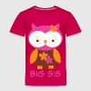 Cute Big Sister Owl Baby & Toddler Shirts - Toddler Premium T-Shirt