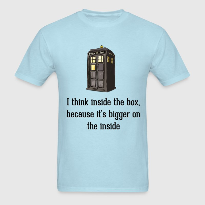 Thinking Inside The Box T-Shirts - Men's T-Shirt