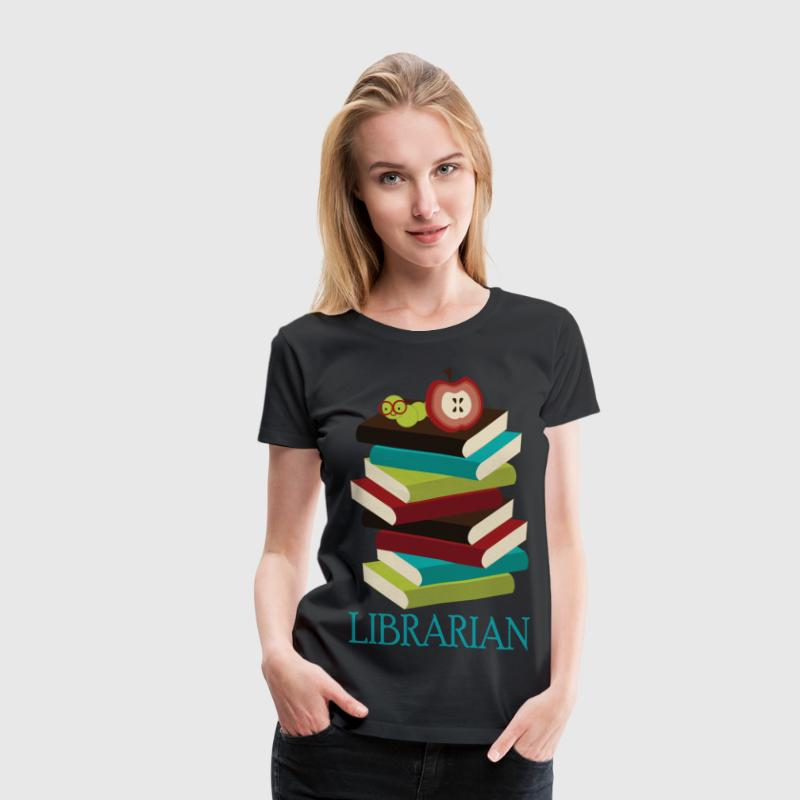 Librarian Occupation Books Women's T-Shirts - Women's Premium T-Shirt