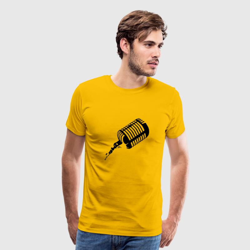 Microphone - Men's Premium T-Shirt