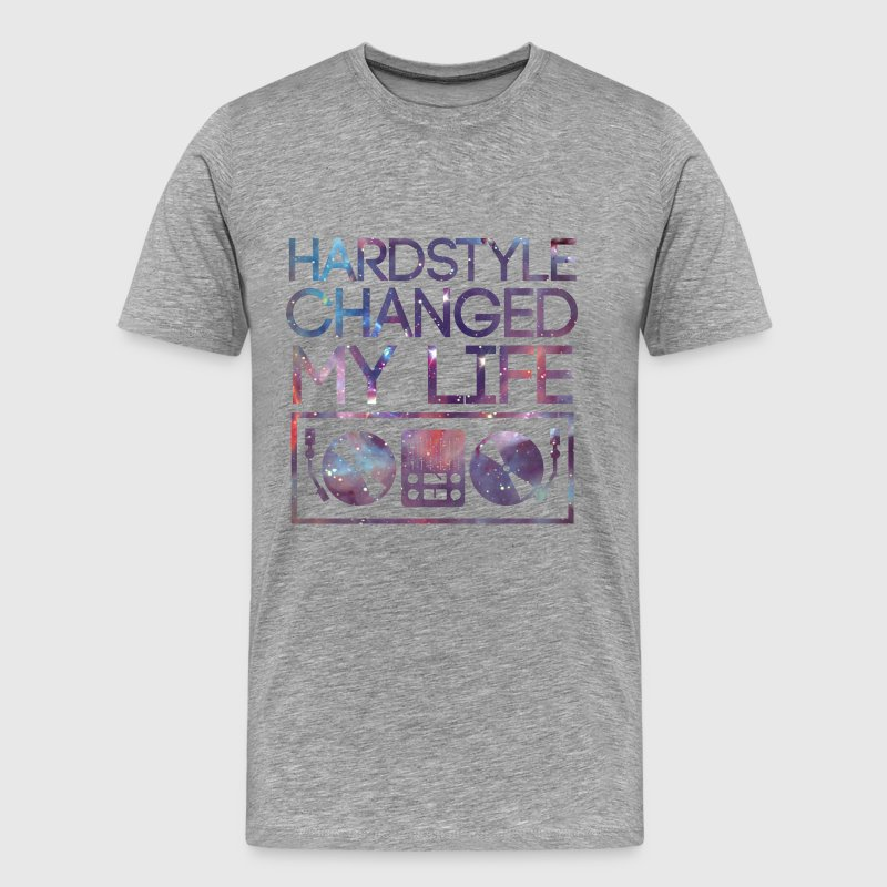 Hardstyle changed my life - Men's Premium T-Shirt
