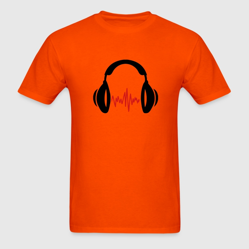 Orange music T-Shirts - Men's T-Shirt