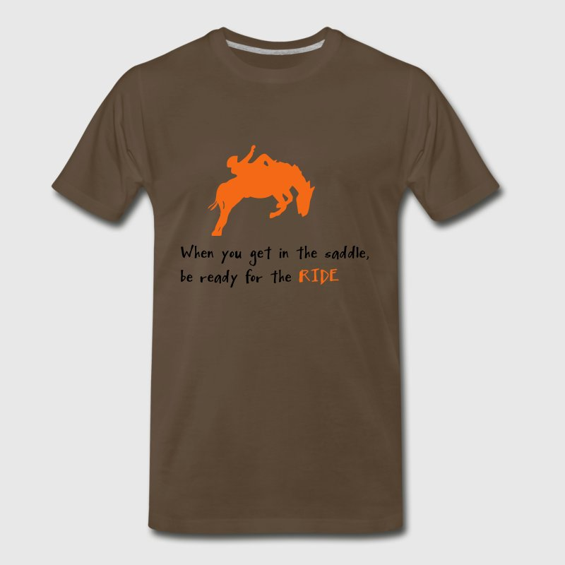 Brown be ready T-Shirts - Men's Premium T-Shirt