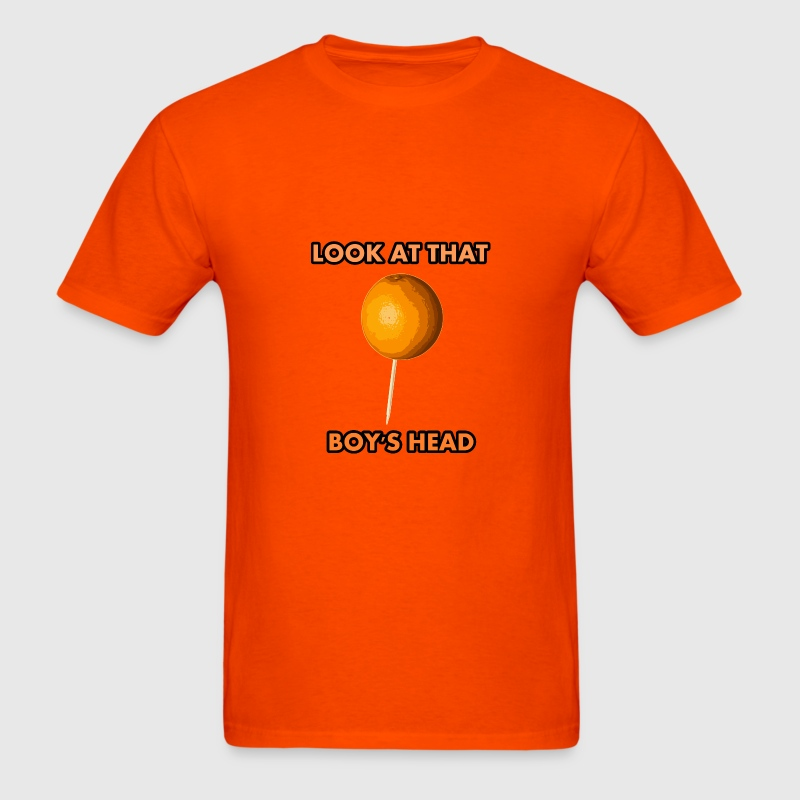 Orange on a Toothpick - Men's T-Shirt